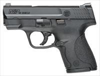Smith & Wesson S&W M&P40 .40SW SHIELD FS BLACKENED SS/BLK NO THUMB SAFE 10034