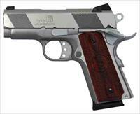 "IVER JOHNSON 1911 THRASHER SS .45ACP 3.12"" FS 7RD STAINLESS GIJ07"