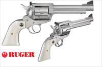 Ruger FLATTOP 45LC/45ACP SS/IVY 5.5 5241