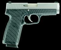 "Kahr Arms CT9093BCF CT9 Double 9mm 3.6"" 7+1 Black Polymer Grip Stainless Steel"