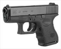 Glock GLOCK 33 .357SIG GEN4 FIXED SIGHTS 10-SHOT BLACK PG33502