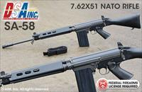 DS Arms FAL SA58 7.62X51 NATO (.308) Rifle, Voyager Edition  F1DSA58