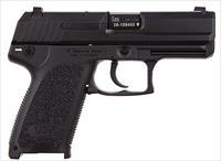 "HK M704031A5 USP40C V1 Single/Double 40 Smith & Wesson (S&W) 3.58"" 12+1 Black Polymer Grip/Frame"