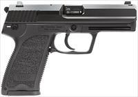 "HK 704001LEA5 USP40 V1 with 3 Mags Single/Double 40 Smith & Wesson (S&W) 4.25"" 13+1 Black Polymer"