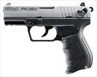 "Walther Arms 5050309 PK380 Single/Double 380 Automatic Colt Pistol (ACP) 3.66"" 8+1 Black Polymer"