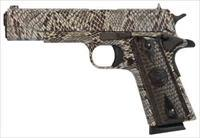 "Iver Johnson IVER JOHNSON 1911A1 COPPERHEAD .45ACP 5"" FS 8RD SNAKESKIN"