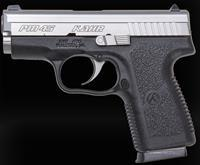 "Kahr Arms PM4543 PM45 45 ACP 3.24"" 5+1 Black Poly Frame/Stainless Slide"