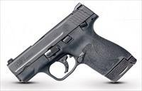 "Smith & Wesson 11806 M&P 9 Shield M2.0 Double 9mm Luger 3.1"" 7+1/8+1 Black Polymer Grip/Frame Grip"