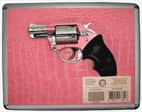 "CHARTER ARMS CHIC LADY .38SP+P 2"" FS SS PINK SYNTHETIC W/CASE"