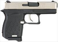 "Diamondback DB9EX DB9 Micro-Compact  9mm Luger Double 3"" 6+1 Black Polymer Grip/Frame Exo Nickel"