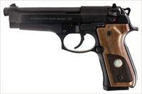 "BERETTA 92FS TRIDENT 9MM 4.9"" FS 15-SH WALNUT W/CLEANING KIT SPEC0578A"