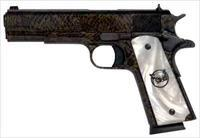 "Iver Johnson IVER JOHNSON 1911A1 MOCCASIN .45ACP 5"" FS 8RD SNAKESKIN GIJWM"