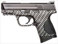 "Smith & Wesson S&W M&P9C COMPACT 9MM 3.5"" FS 12-SHOT CARBON FIBER POLYMER 10123"