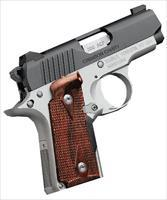 Kimber 380Acp Micro Crimson Carry KIM3300088