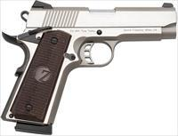 "ZENITH FIREARMS TISAS ZIG M 45 SEMI-AUTO PISTOL, 45 ACP, 4"" BBL, STAINLESS, THREE 8 RND MAGS TIZM450045ST"