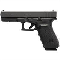 "Glock Pg2050203 G20 Gen 4 Double 10Mm 4.6"" 15+1 Black Interchangeable Backstrap Grip Black PG2050203"