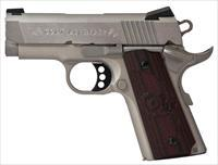 Colt Defender 45Acp 3 Ss Brushed G10 Blk Cherry O7000XE