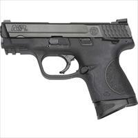 "Smith & Wesson M&P9c Compact 9Mm 3.5"" Fs 12-Sh W/Safety Blk Ss/Blk Pol 206304"