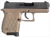 "Diamondback Db9fde Db9 Micro-Compact Double 9Mm Luger 3"" 6+1 Flat Dark Earth Polymer Grip/Frame Grip Black DB9FDE"