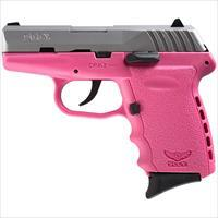 Sccy Industries Cpx-2 9Mm 3.1 Duo Tone No Safety Pink 10Rd CPX2-TTPK