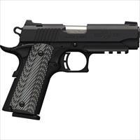 Browning Blk Label Pro Compact 1911 .380Acp Fs 8Sh W/Rail Blk G10 051909492