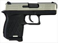 "Diamondback Db9ss Db9 Micro-Compact Double 9Mm Luger 3"" 6+1 Black Polymer Grip/Frame Grip Stainless Steel DB9SS"