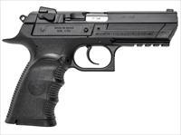 "Magnum Research Be94133rl Baby Desert Eagle Iii Single/Double 40 Smith & Wesson (S&W) 4.4"" 13+1 Black Polymer Grip/Frame Black Carbon Steel BE94133RL"