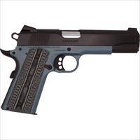 Colt L/W Government .45Acp Lt Blue Frame Blued Slide O1880XSEBT