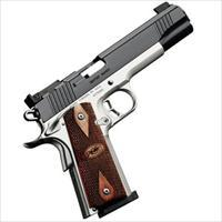 Kimber Rimfire Super Target II in .22LR, Two-Tone Finish, Wood Grips, Adjustable Sights - CUSTOM SHOP GUN