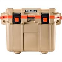 Pelican Products Coolers Im 30 Quart Elite Tan/Orange 30Q-2-TANORG