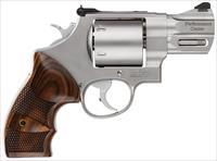 "Smith & Wesson 170135 629 Performance Center Single/Double 44 Remington Magnum 2.625"" 6 Rd Wood Grip Stainless 170135"