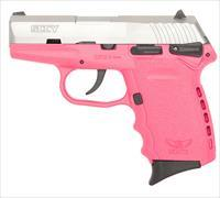SCCY INDUSTRIES CPX1 9MM DOA 10RD SS/PINK CPX1-TTPK