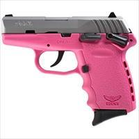 Sccy Cpx-1 Ttpk 9Mm Ss/Pink (Manual Safety) CPX1TTPK