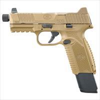 Fn Manufacturing 509 Tactical 9Mm Fde 4.5 Thrd 1 17Rd 2 24Rd 66100373
