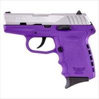 Sccy Industries Cpx2-Tt Pistol Dao 9Mm 10Rd Ss/Purple W/O Safety CPX2-TTPU