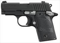 "Sig Sauer 238380Nmr P238 Micro-Compact Nightmare Single/Double 380 Automatic Colt Pistol (Acp) 2.7"" 6+1 Black G10 Grip Black Nitron Stainless Steel 238-380-NMR"