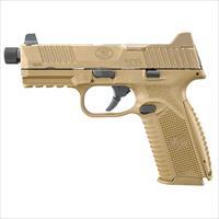 Fn Manufacturing 509 Tactical 9Mm Fde 4.5 Thrd Hns 3 10Rd 66100383