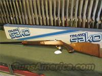 "SAKO VIXEN  .6MM PPC, VARMINT BENCH With Box ""RARE"""