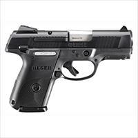 Ruger Sr9c Compact 9Mm Luger As 17-Shot Blued/Black Syn  * BSR9C