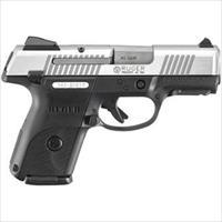 "Ruger 3476 Sr40c Compact Double 40 Smith & Wesson (S&W) 3.5"" 15+1 Black Polymer Grip Stainless Steel 3476"