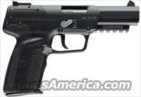 FN Herstal Five-seveN Single Action Pistol #3868929122, 5.7 X 28mm 4 3/4 in Polymer Grip Black Finish 20 Rd NEW
