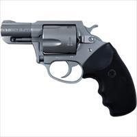 "Charter Arms 73520 Mag Pug Standard Single/Double 357 Magnum 2.2"" 5 Black Rubber Stainless 73520"
