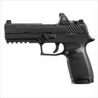 SIG SAUER P320 FULL SZ 9MM BLK NITRON W/ REFLEX SIGHT 320F9BSSRX