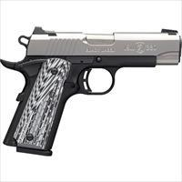 "Browning Black Label Pro 1911-380 Cmp .380 3-5/8"" Fs S/S 8Sh G10 051924492"