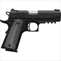 Browning Blk Label Pro Compact 1911 .380Acp Fns 8Sh W/Rail Blk G10 051911492