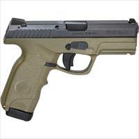 Steyr M9a1 9Mm Luger Black/Green Fs 2-17Rd Mags 397252K