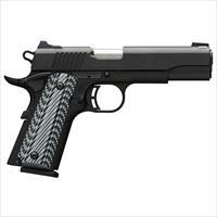 Browning 1911-380 380Acp Blk Label G10 Fs Ns 051906492