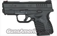 "Springfield XDS-9 9mm 3.3"" barrel 7 Rnds NEW"