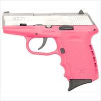Sccy Industries Cpx2-Tt Pistol Dao 9Mm 10Rd Ss/Pink W/O Safety CPX1-TTPK