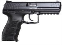 "Heckler & Koch 730901La5 P30l V1 Lem Long Slide Double 9Mm Luger 4.4"" 10+1 Black Interchangeable Backstrap Grip Black 730901L-A5"